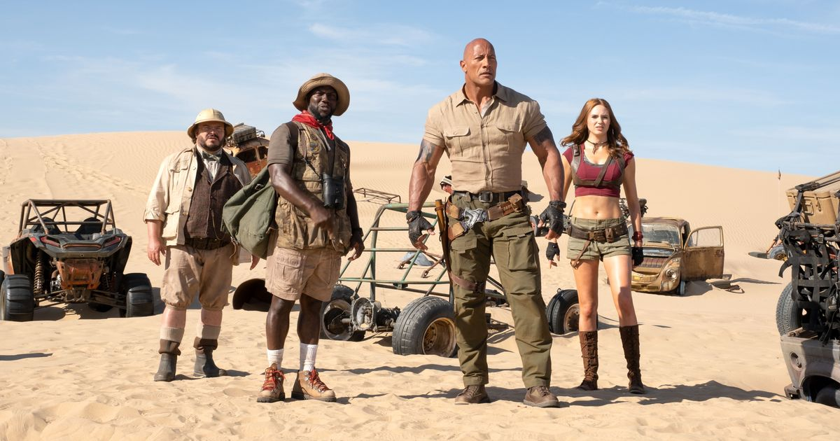 Jumanji: The Next Level Is a Tired, Modestly Funny Sequel