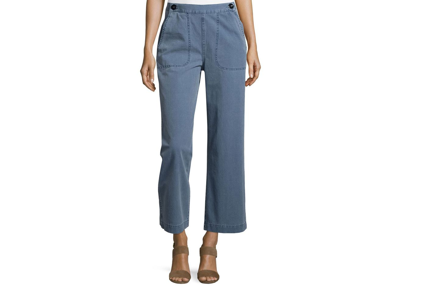 MiH Wide-Leg Nautical Pants