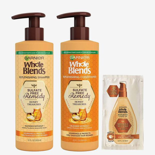 Whole Blends Sulfate Free Remedy Replenishing Shampoo and Conditioner