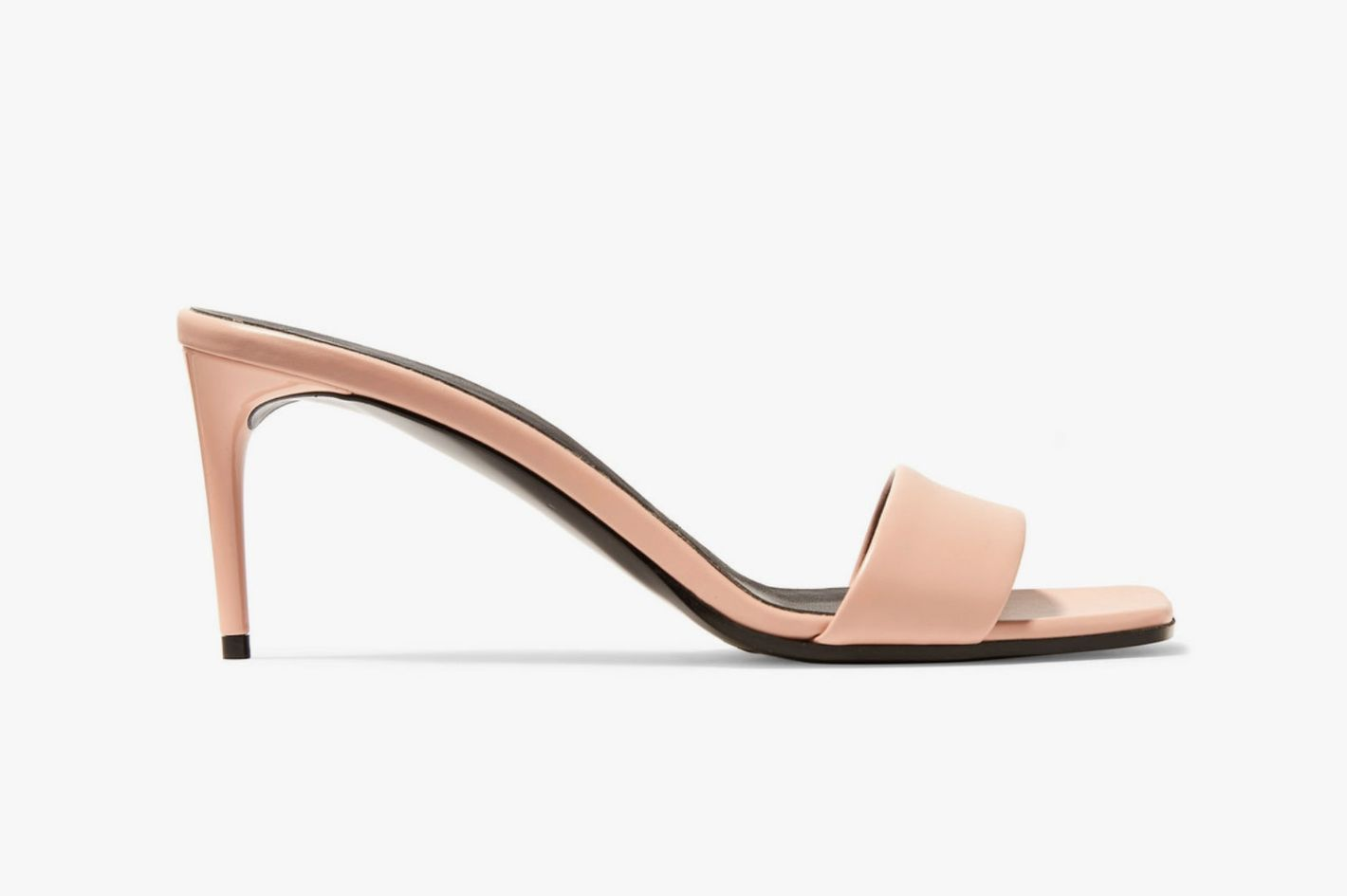 Stella McCartney + NET SUSTAIN Faux Leather Mules