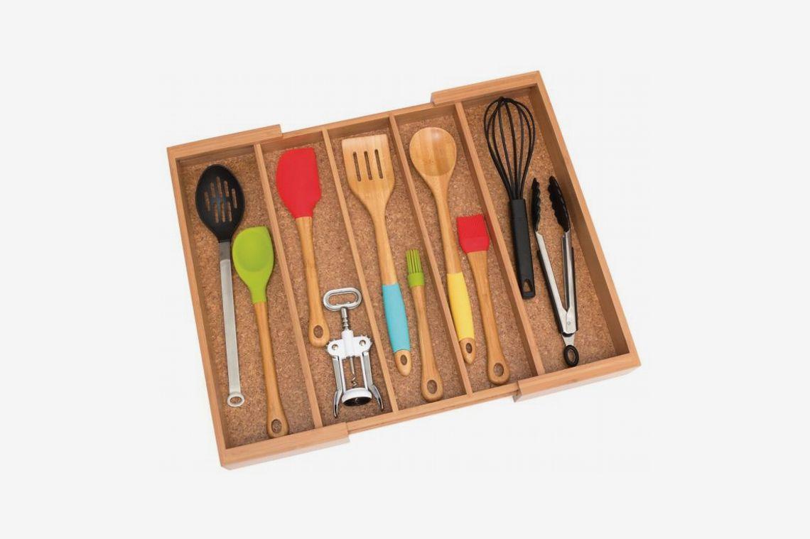 Best Kitchen Drawer Organizers. Lipper Utensil Organizer Tray