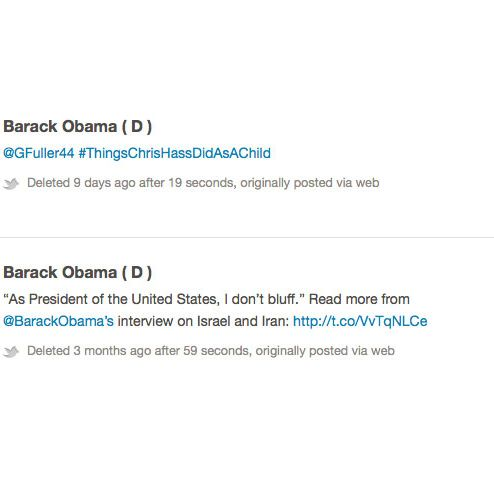 The Edvocates List Of 123 Twitter Feeds >> See All The Barack Obama Tweets That Were Too Hot For The Web