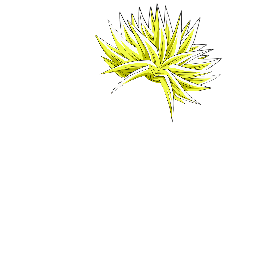 Pics photos how to draw spiky hair - Gallery For Gt Super Saiyan Hair Cut Out