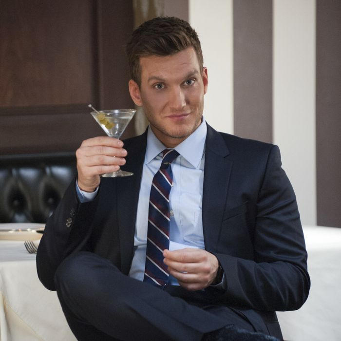 Scott Michael Foster as Nathaniel.