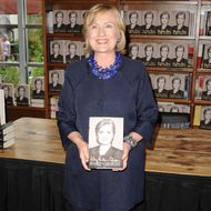 Hillary Clinton Book Signing At Books and Books