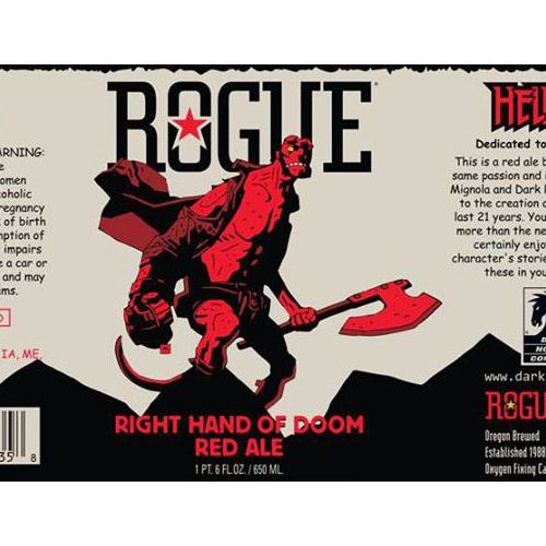 Rogue didn't even have to change its color scheme for this one.
