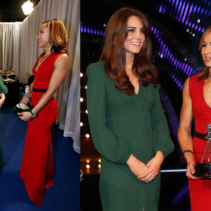 Kate wore McQueen.