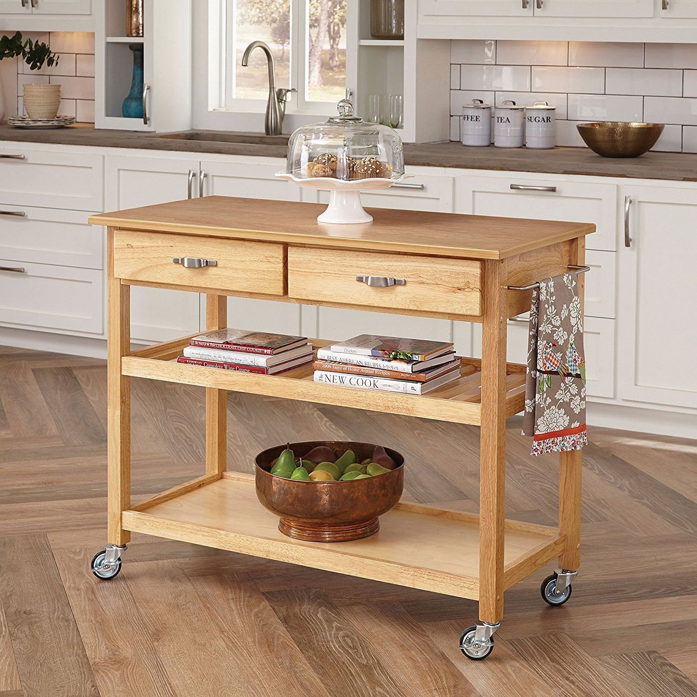 The 14 Best Butcher Block Kitchen Islands And Carts 2018 Work Table