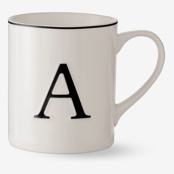 Williams Sonoma Monogram Mug