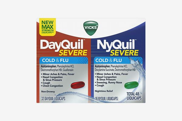 Vicks DayQuil and NyQuil Severe Cough, Cold and Flu Relief