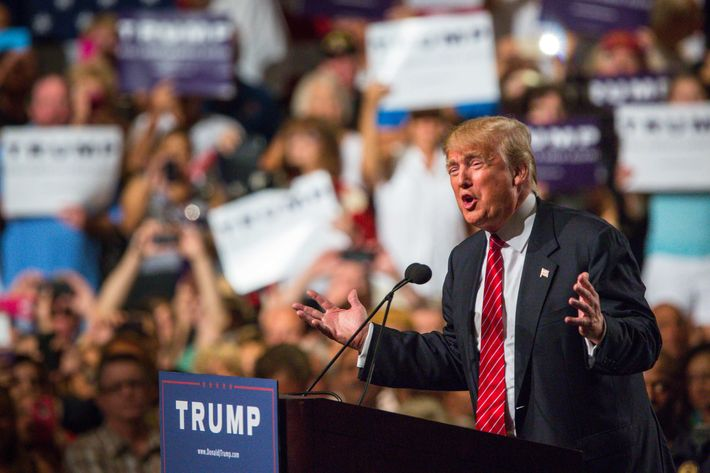 Donald Trump Gives Address On Immigration In Phoenix