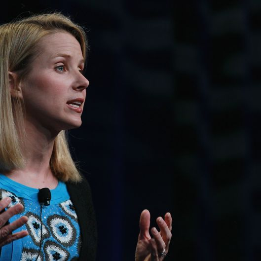Google Vice President of Search Product and User Experience Marissa Mayer speaks during an announcement September 8, 2010 in San Francisco, California. Google announced the launch of Google Instant, a faster version of Google search that streams results live as you type your query.