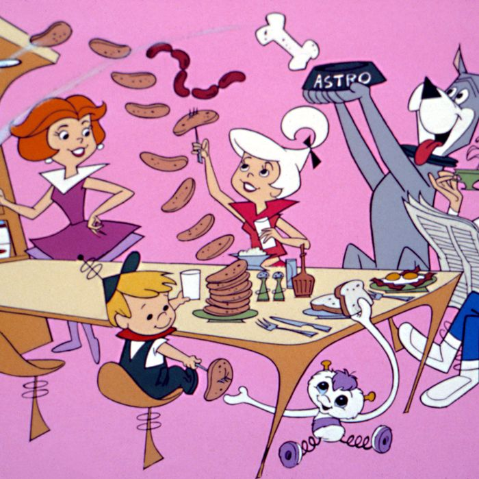 jetsons eating breakfast- strategist best smart kitchen appliances
