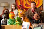 "THE MUPPETS""  AND YOU THINK YOU HAVE STRANGE MEETINGS – KERMIT THE FROG is joined by Mary (AMY ADAMS) Gary (JASON SEGEL) and a whole gang of Muppets as they search for a way to save the day in THE MUPPETS (Opening in theatres on November 23rd).  Ph: Patrick Wymore  ©Disney Enterprises, Inc. All Rights Reserved."