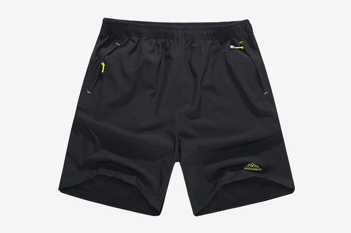 Singbring Males's Outside Active Fleet Dry Mountaineering Shorts