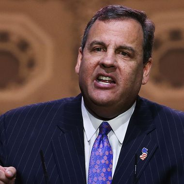 Gov. Chris Christie (R-NJ) speaks at the CPAC Conference, on March 6, 2014 in National Harbor, Maryland. The American Conservative Union (CPAC) held its 41st annual Conservative Political conference at the Gaylord International Hotel.