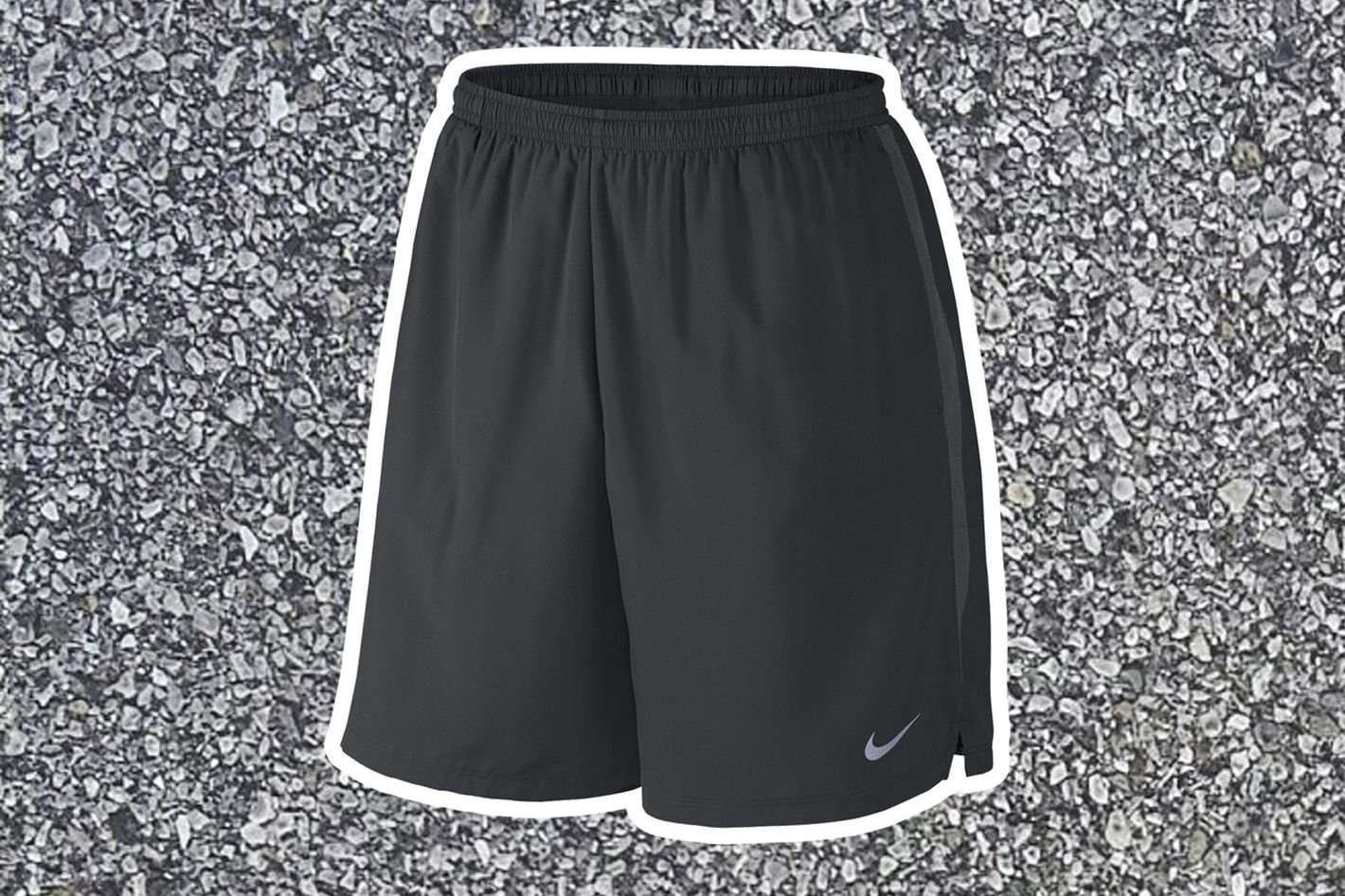 "nike 7"" challenger short in black - strategist best fitness gear and best affordable running shorts for men"