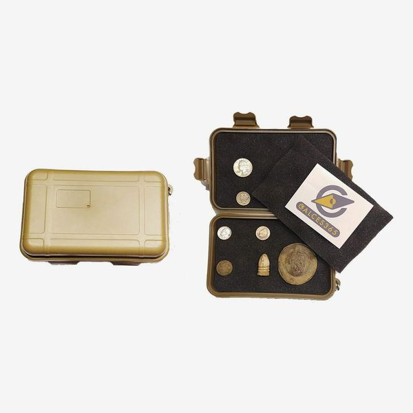 Calcies 365 Metal Detector Detecting Finds Case
