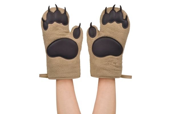 Fred Bear Hands Oven Mitts, Set of 2