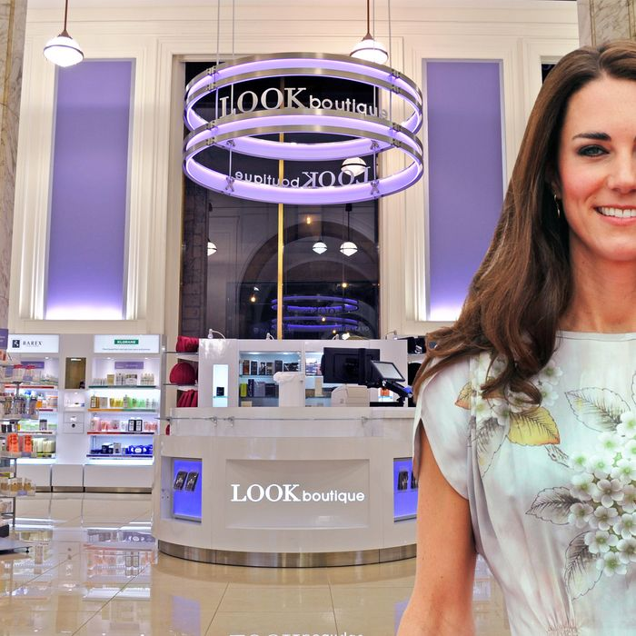 Inside the superfancy, salon-housing new Duane Reade (no, Kate Middleton wasn't really there).