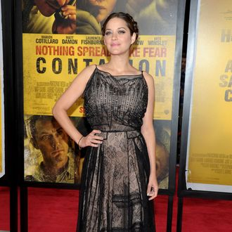 NEW YORK, NY - SEPTEMBER 07: Marion Cotillard attends the