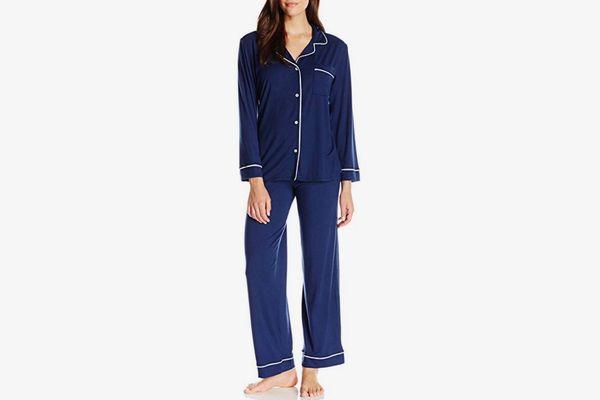 Eberjey Women's Gisele Two-Piece Long Sleeve & Pant Pajama Sleepwear Set