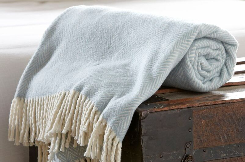 Eider & Ivory Brampt Herringbone Throw