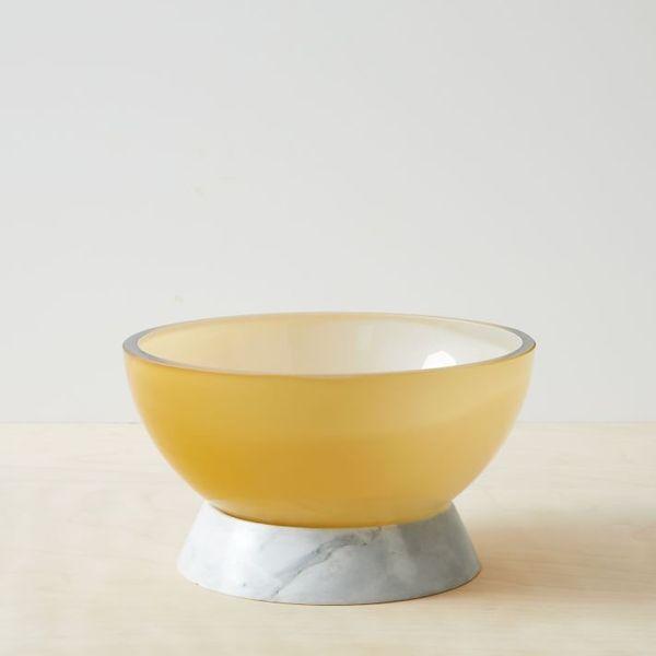 Bower Vase + Candlelight Collection Papasan Bowl