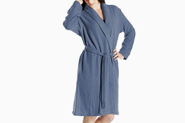 Cashmere Boutique Women's Short Robe