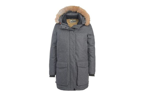 Woolrich Women's Wool Face Patrol Down Parka