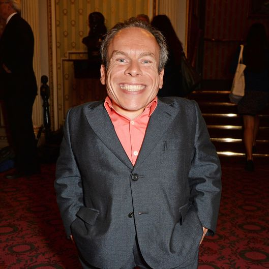 "LONDON, ENGLAND - JULY 08:  Warwick Davis attends the press night performance of ""The Curious Incident Of The Dog In The Night-Time"" at the Gielgud Theatre on July 8, 2014 in London, England.  (Photo by David M. Benett/Getty Images)"