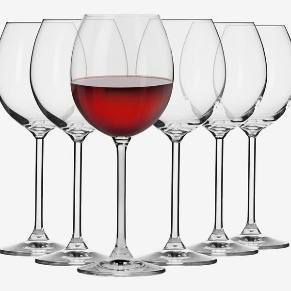 Krosno Red Wineglasses (set of 6)