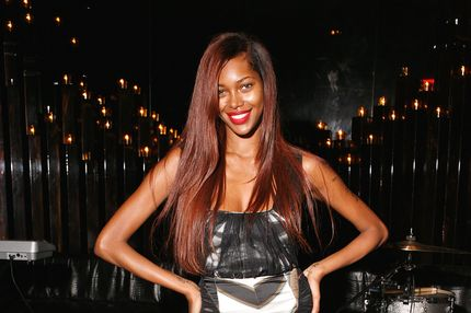 "Jessica White attends the Jared Evan ""The Fourth Chapter"" Listening Party at The Double Seven on July 2, 2012 in New York City."