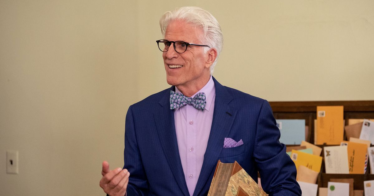 Ted Danson Practiced His Good Place Flossing Dance Scene for 'Weeks'