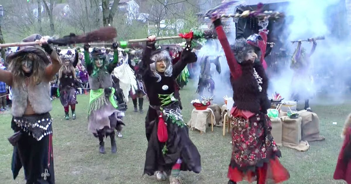 These Witches Dancing To German Reggae Are Having More Fun