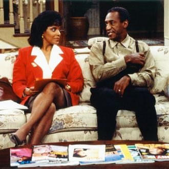 Phylicia Rashad as Clair Hanks Huxtable, Bill Cosby as Dr. Heathcliff 'Cliff' Huxtable