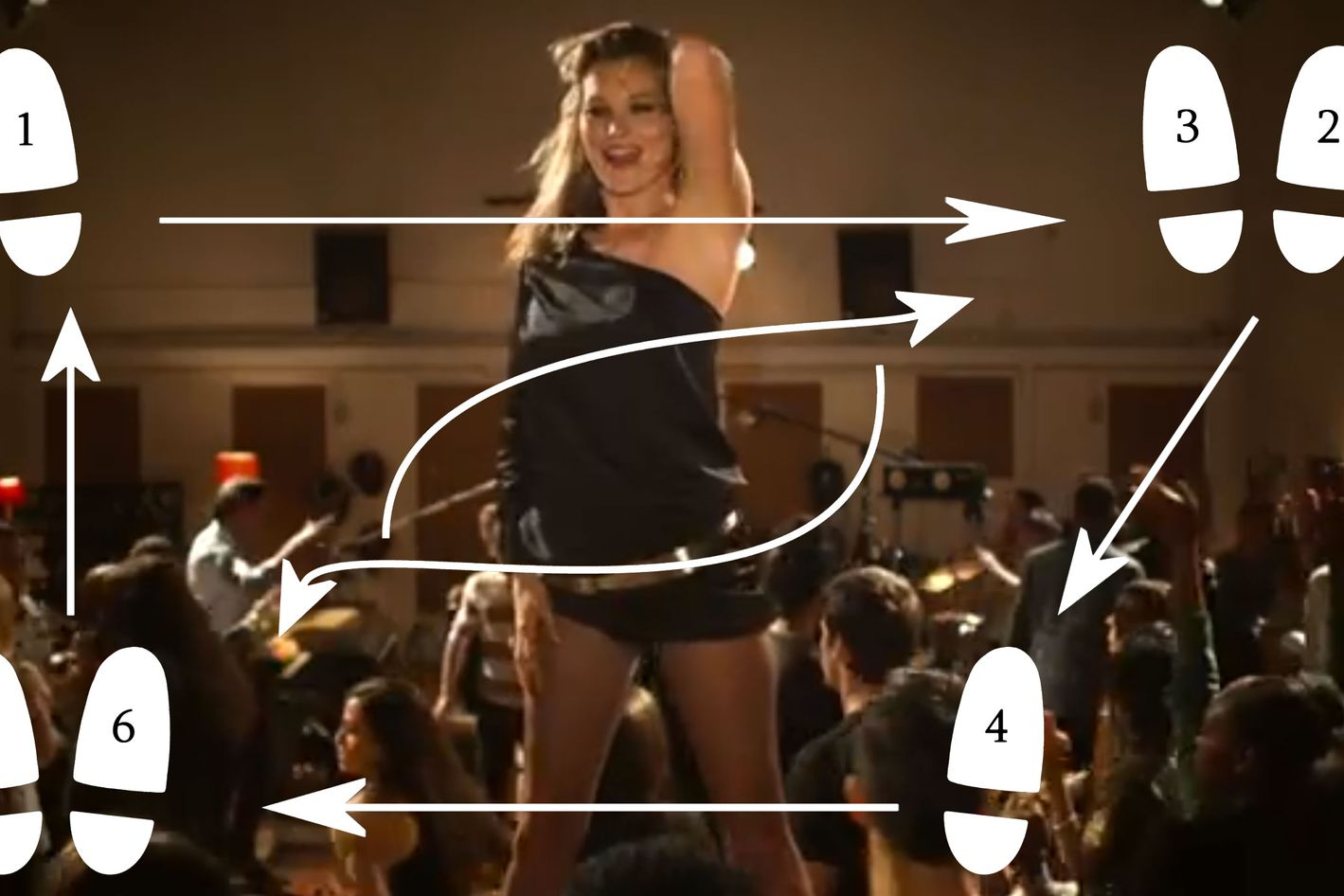 gif guide: sexy dance lessons from kate moss
