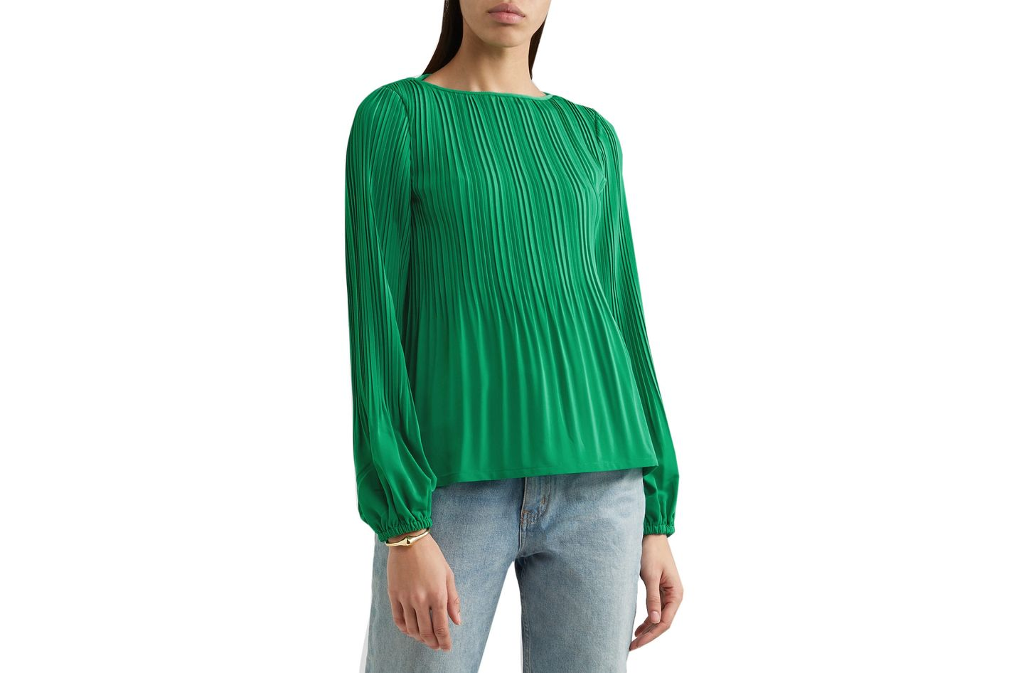 Maje Lockin pleated top