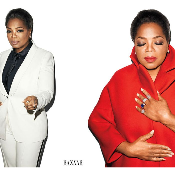 Oprah, shot by Terry Richardson.
