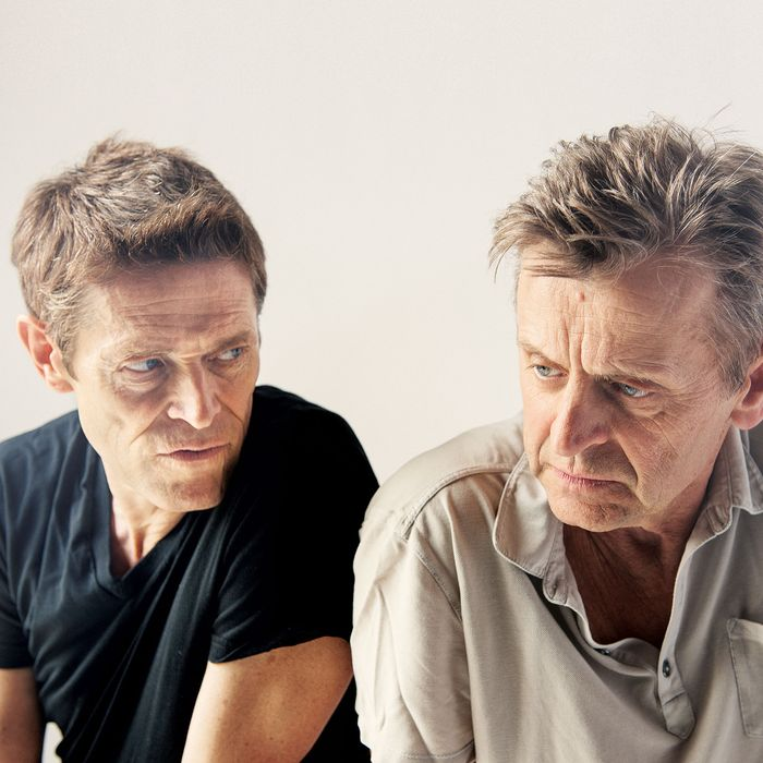 Willem Dafoe and Mikhail Baryshnikov