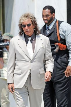 Al Pacino in costume on the set of the upcoming Phil Spector biopic in Mineola, New York. <P> Pictured: Al Pacino <P> <B>Ref: SPL302878  020811  </B><BR/> Picture by: Doug Meszler / Splash News<BR/> </P><P> <B>Splash News and Pictures</B><BR/> Los Angeles:	310-821-2666<BR/> New York:	212-619-2666<BR/> London:	870-934-2666<BR/> photodesk@splashnews.com<BR/> </P>