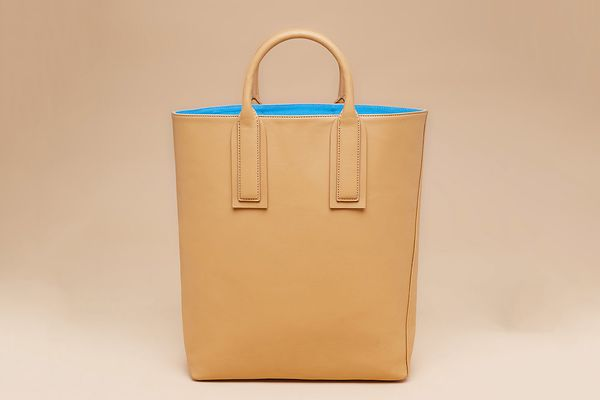 Leather Origami Tote