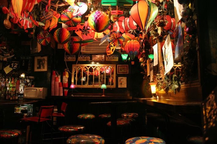 Cubbyhole, in New York's West Village.