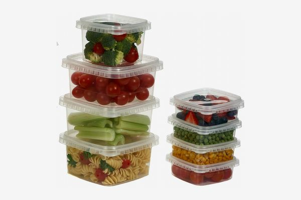 Decony Clear Deli Food Storage Containers