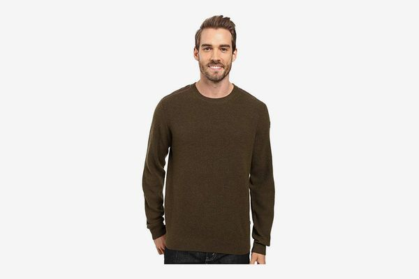 Fjällräven Sormland Crew Sweater, Dark Olive