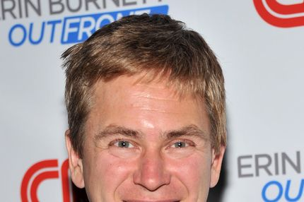 "NY 1 anchor Pat Kiernan attends the launch party for CNN's ""Erin Burnett OutFront"" at Robert atop the Museum of Arts and Design on September 27, 2011 in New York City."
