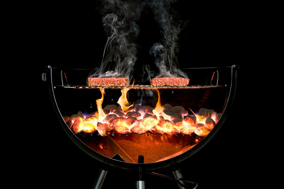 You won't even have to saw your grill in half.