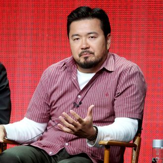 Director/producer Justin Lin speaks onstage at the