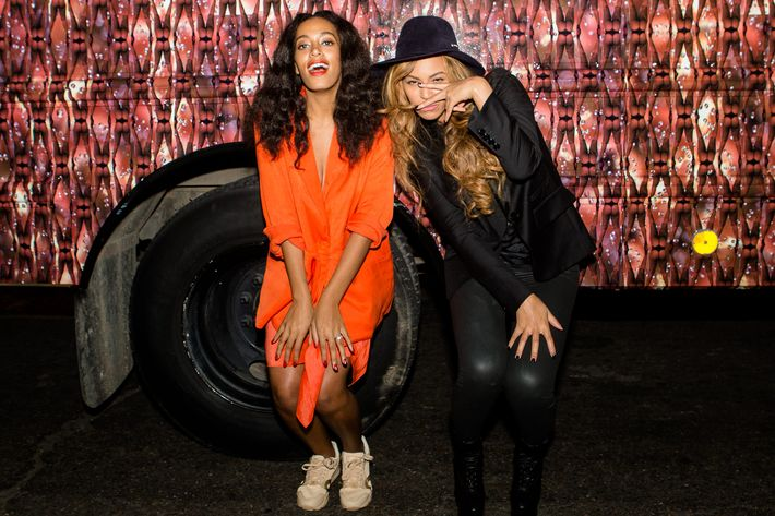 Beyonce Interviews Solange for 'Interview' Magazine