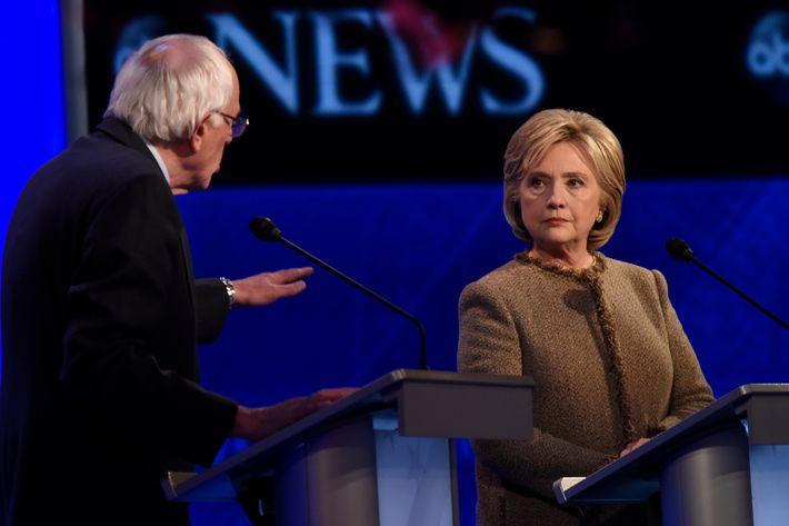 Saturday night showcased an bonafide debate.